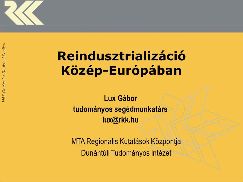 Reindusztrializáció Közép-Európában