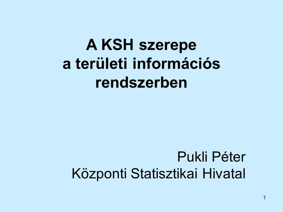a területi információs rendszerben