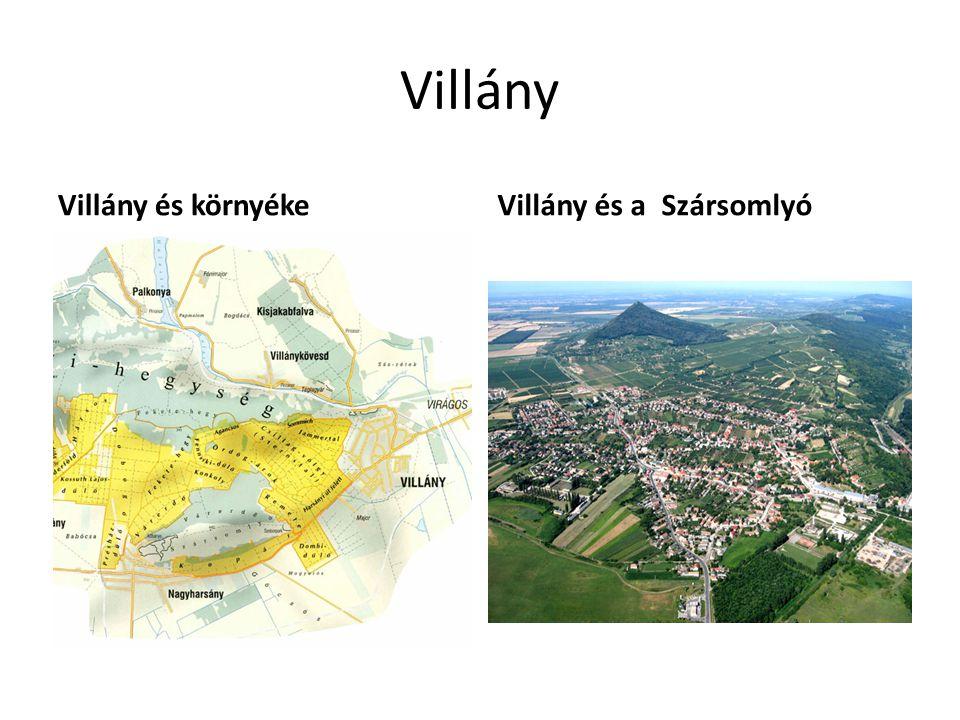 Villány Villány és környéke Villány és a Szársomlyó