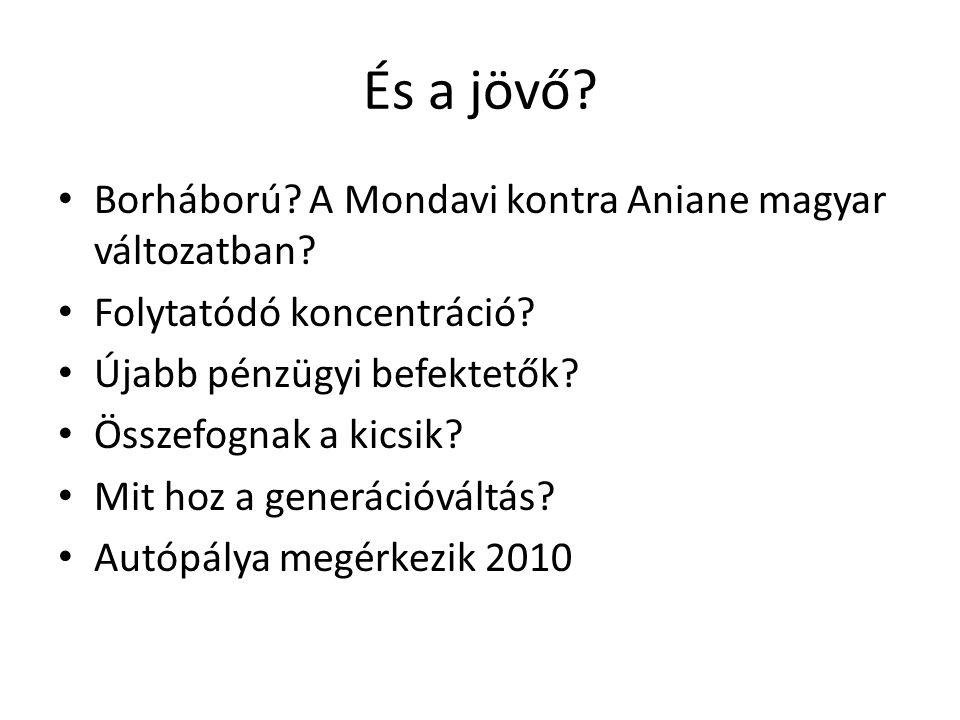 És a jövő Borháború A Mondavi kontra Aniane magyar változatban