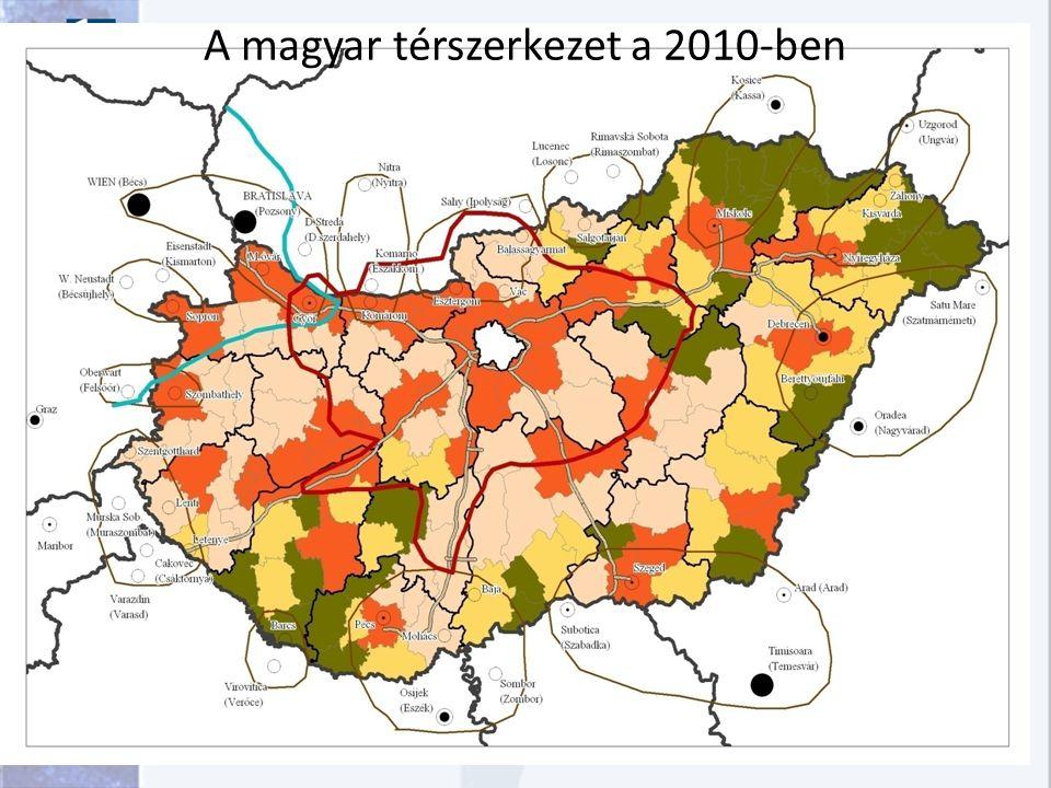 A magyar térszerkezet a 2010-ben