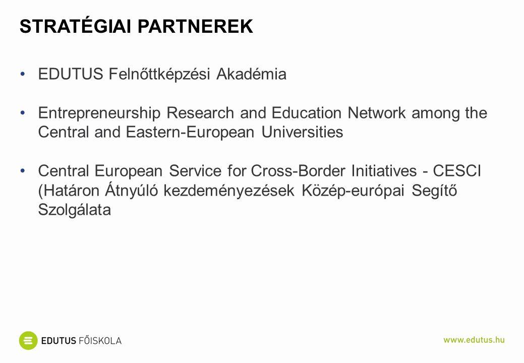 Stratégiai partnerek EDUTUS Felnőttképzési Akadémia