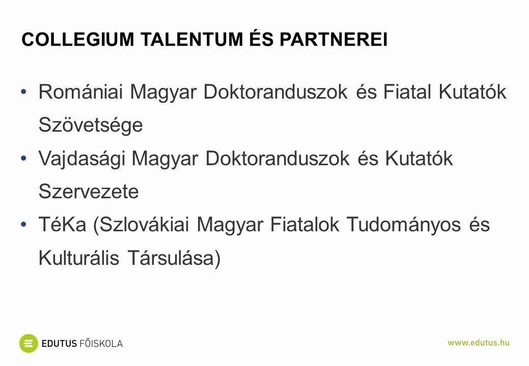 Collegium TaleNtum és partnerei