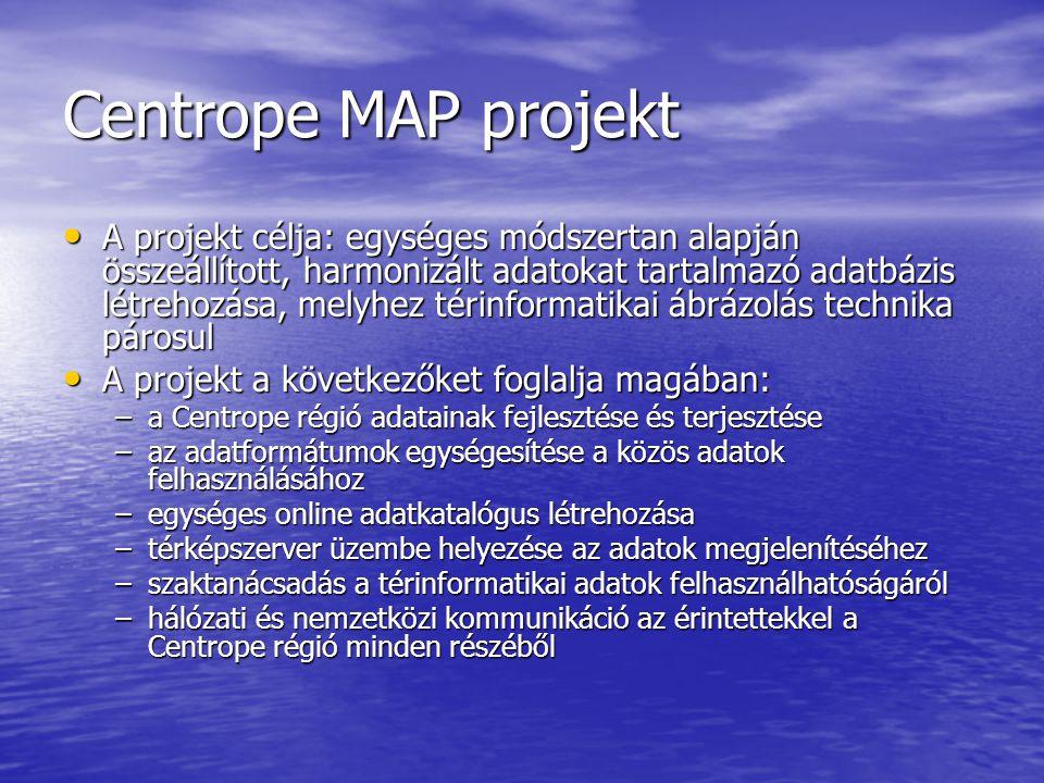 Centrope MAP projekt