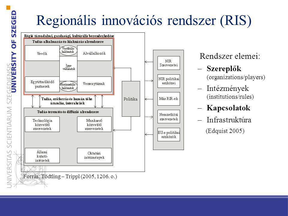 Regionális innovációs rendszer (RIS)
