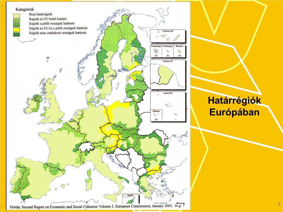 Határrégiók Európában