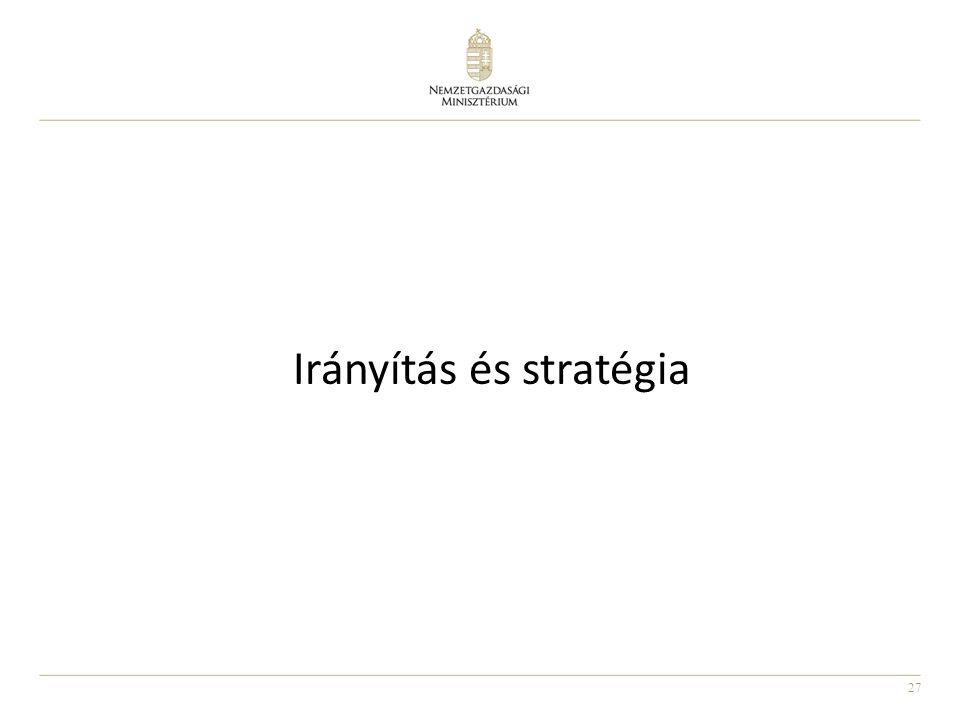 Irányítás és stratégia