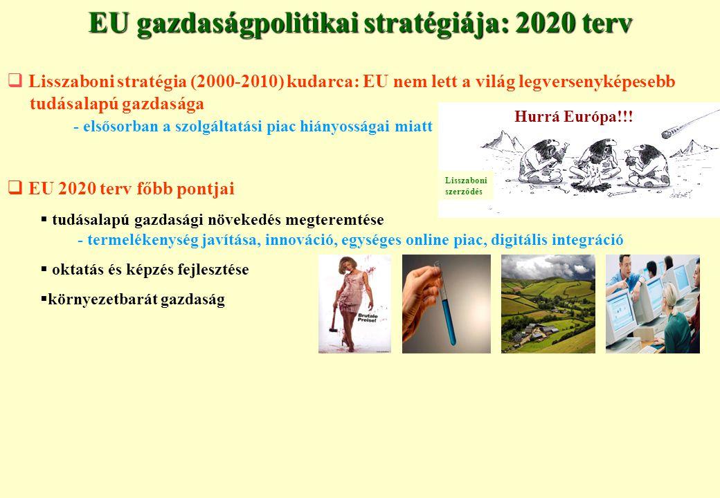EU gazdaságpolitikai stratégiája: 2020 terv