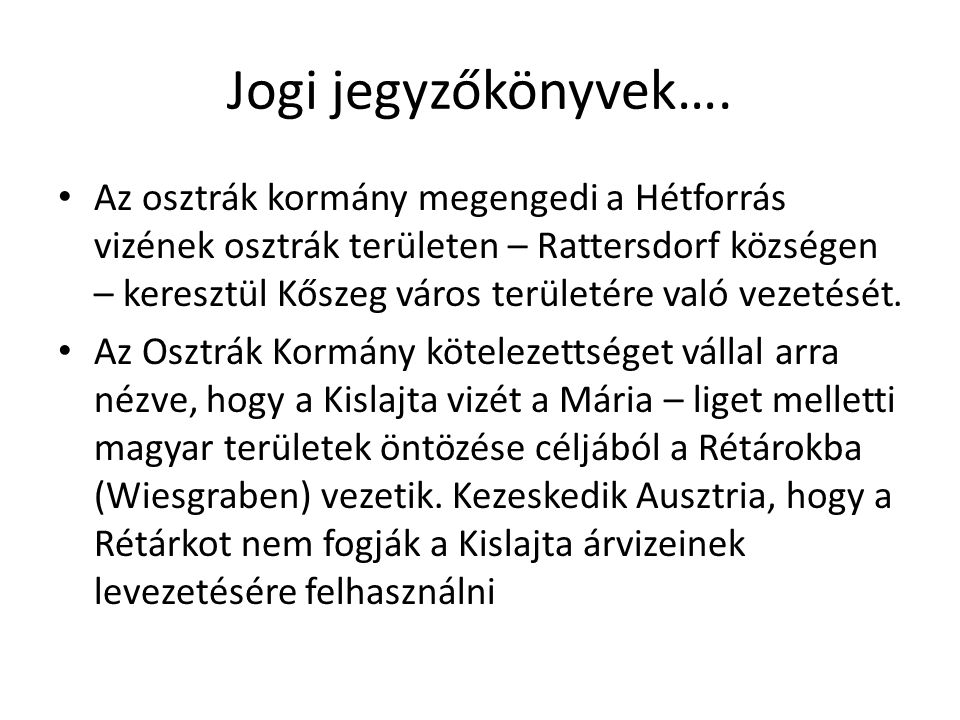 Jogi jegyzőkönyvek….