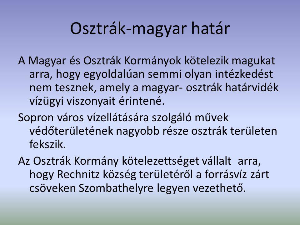 Osztrák-magyar határ