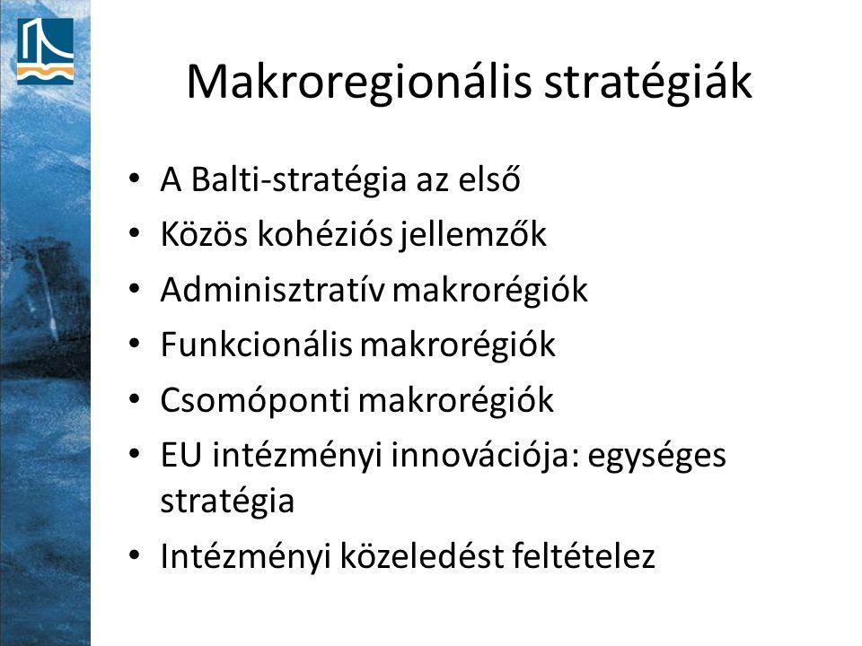 Makroregionális stratégiák