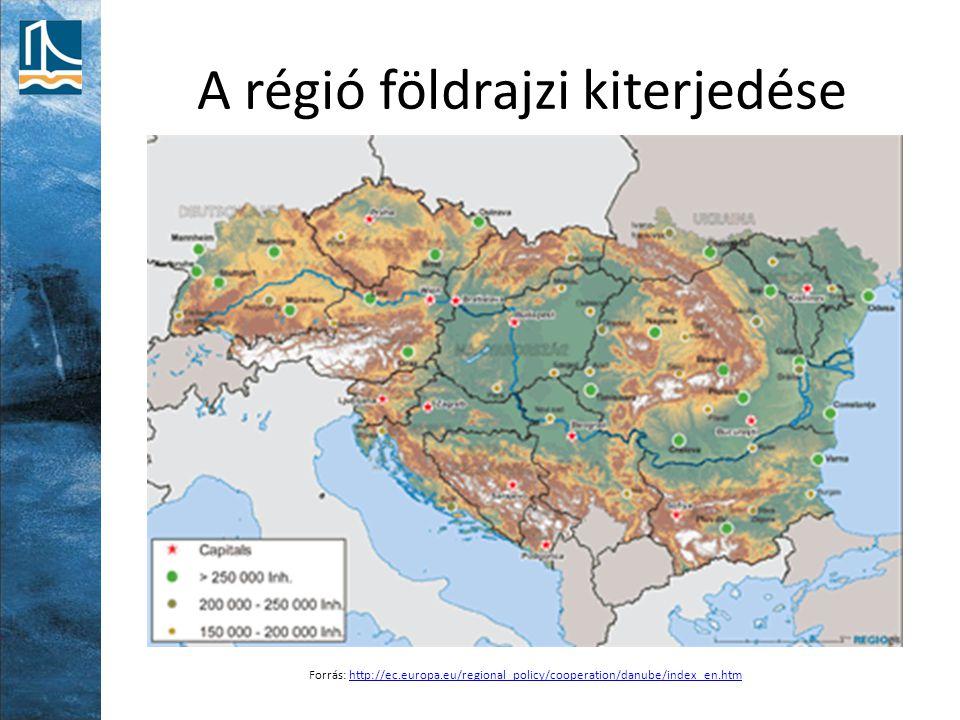 A régió földrajzi kiterjedése