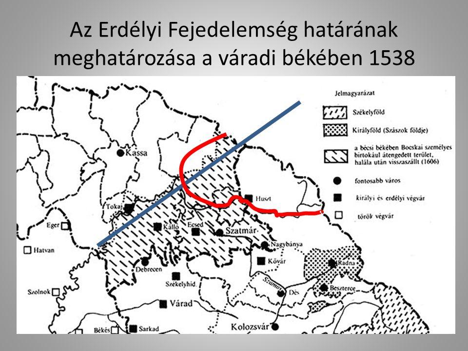 Az Erdélyi Fejedelemség határának meghatározása a váradi békében 1538