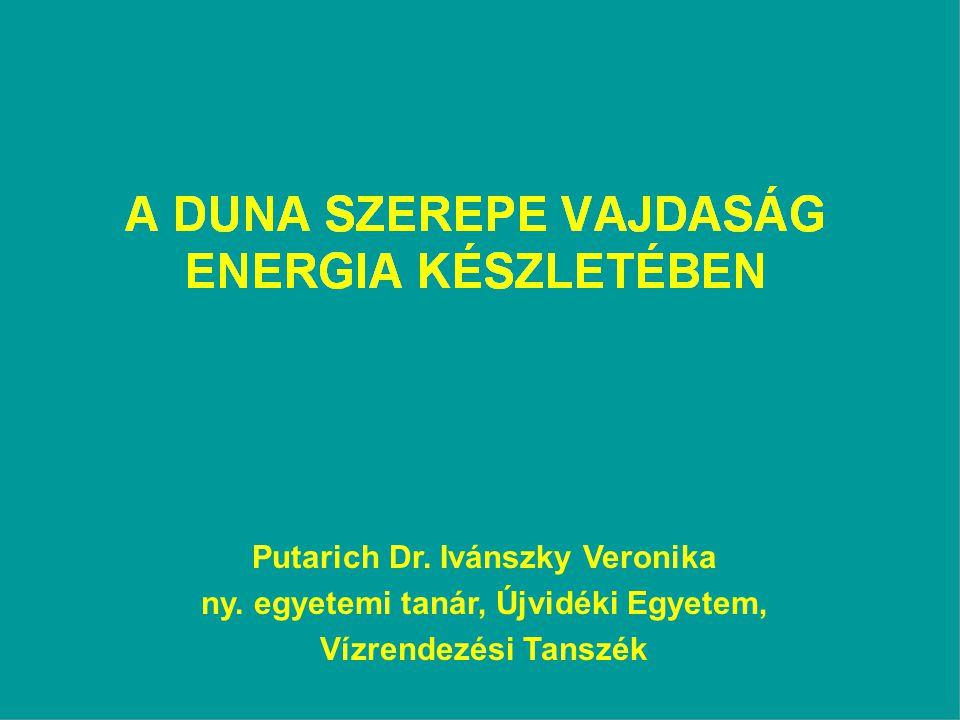 Putarich Dr. Ivánszky Veronika ny. egyetemi tanár, Újvidéki Egyetem,