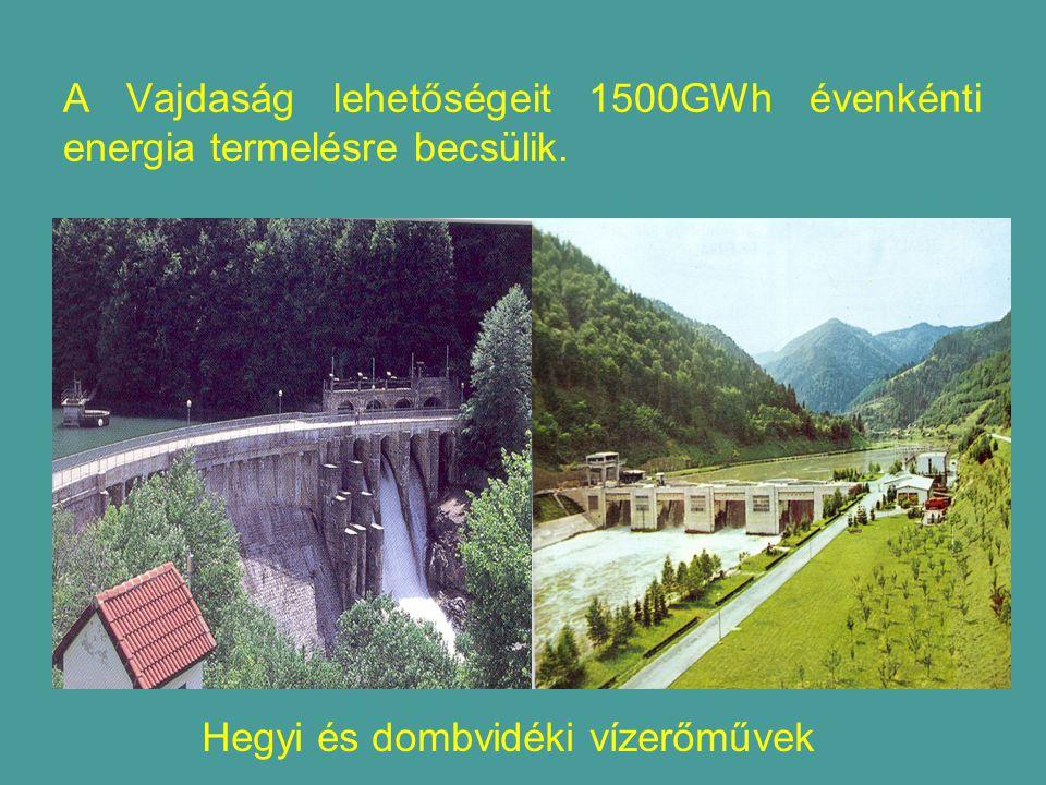 A Vajdaság lehetőségeit 1500GWh évenkénti energia termelésre becsülik.