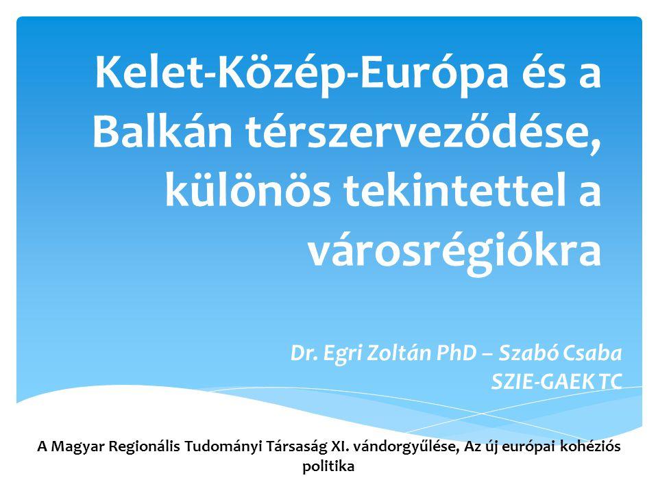 Dr. Egri Zoltán PhD – Szabó Csaba SZIE-GAEK TC