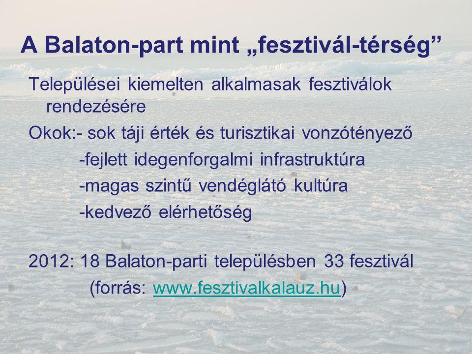 """A Balaton-part mint """"fesztivál-térség"""