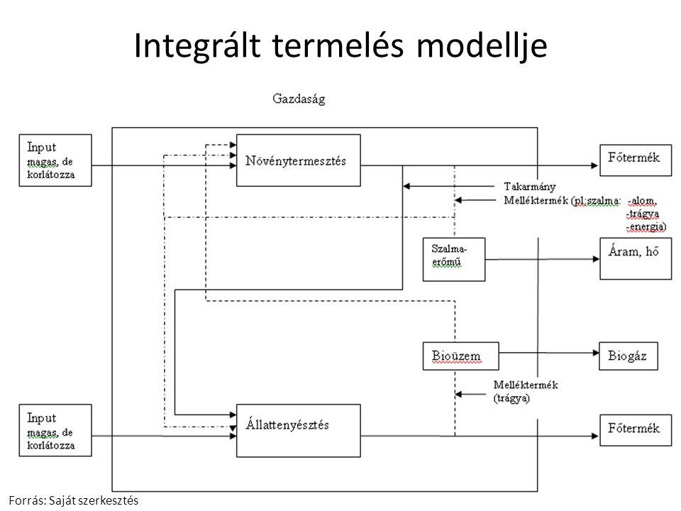 Integrált termelés modellje