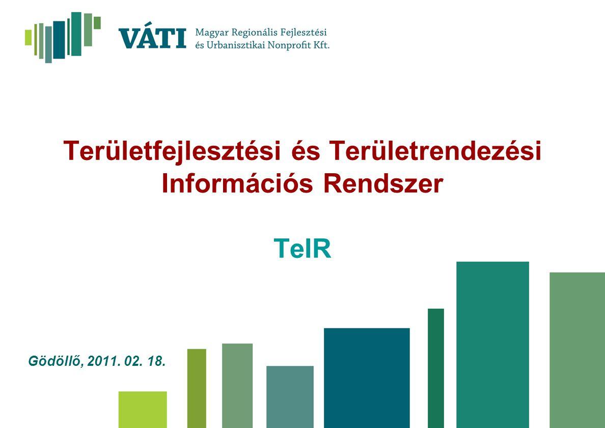 Területfejlesztési és Területrendezési Információs Rendszer TeIR