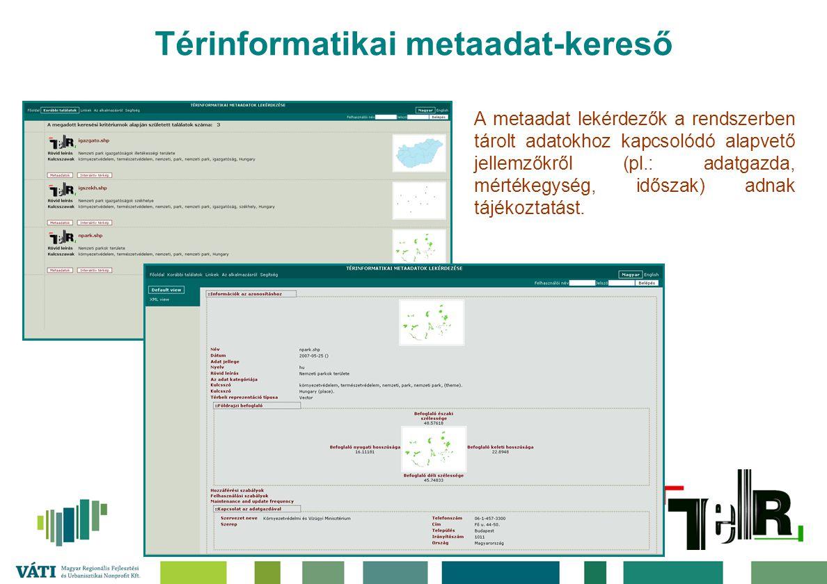 Térinformatikai metaadat-kereső