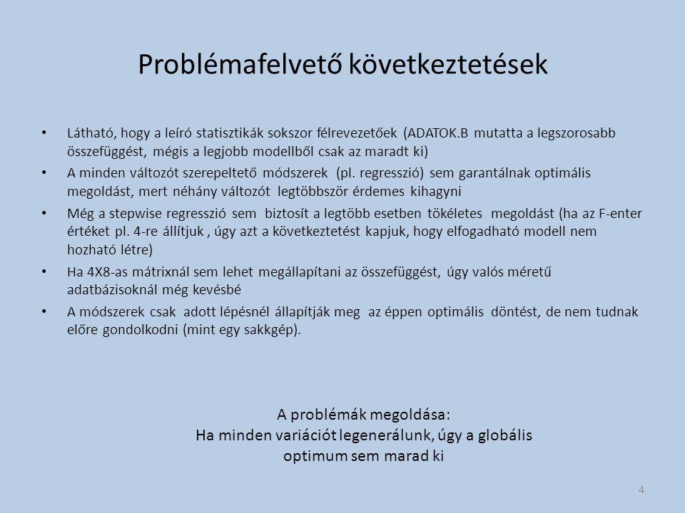 Problémafelvető következtetések