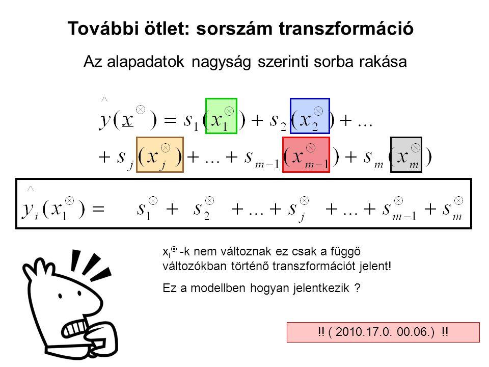 További ötlet: sorszám transzformáció