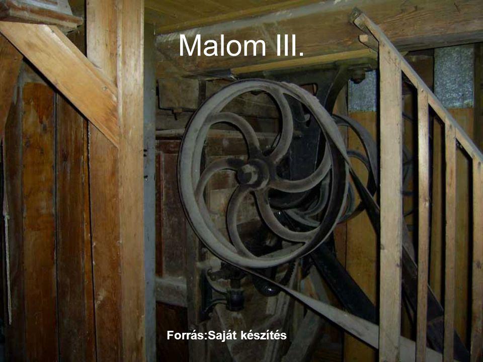 Malom III. Forrás:Saját készítés