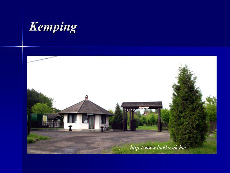 Kemping http://www.bukkszek.hu/