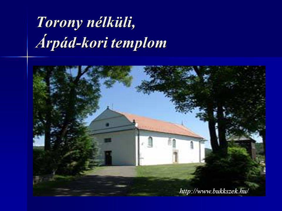 Torony nélküli, Árpád-kori templom