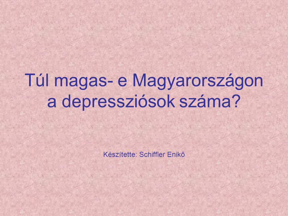 Túl magas- e Magyarországon a depressziósok száma