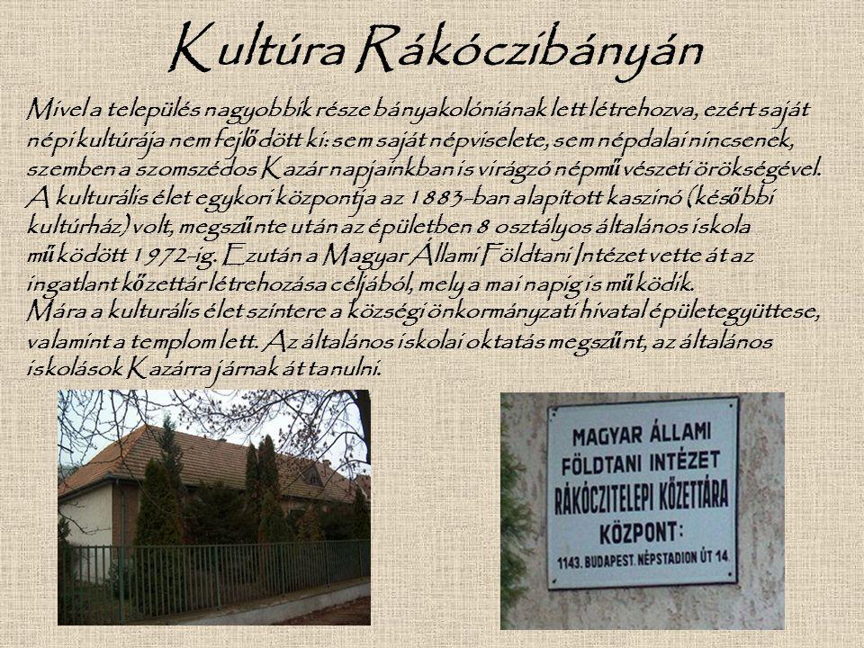 Kultúra Rákóczibányán