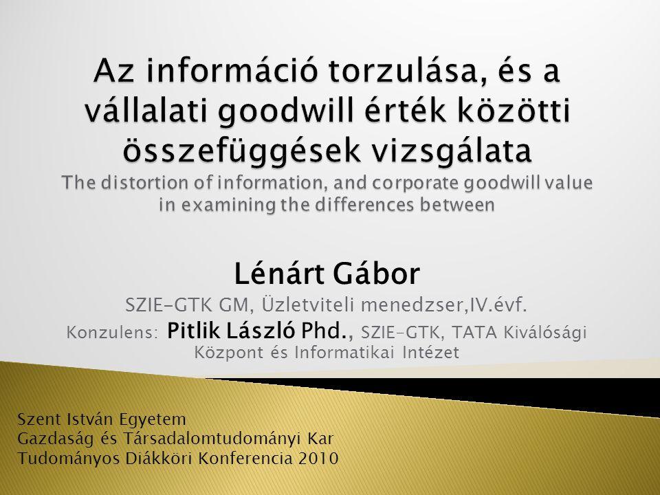 SZIE-GTK GM, Üzletviteli menedzser,IV.évf.
