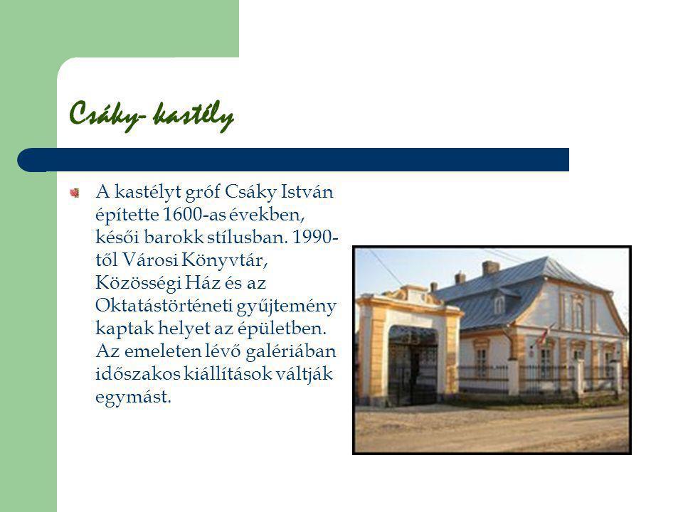 Csáky- kastély