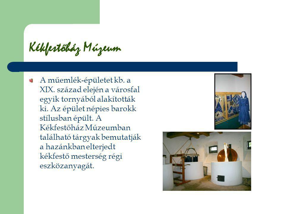 Kékfestőház Múzeum