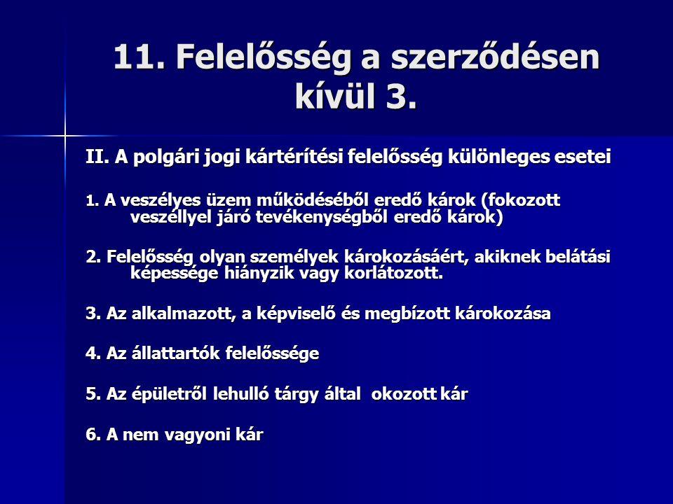 11. Felelősség a szerződésen kívül 3.