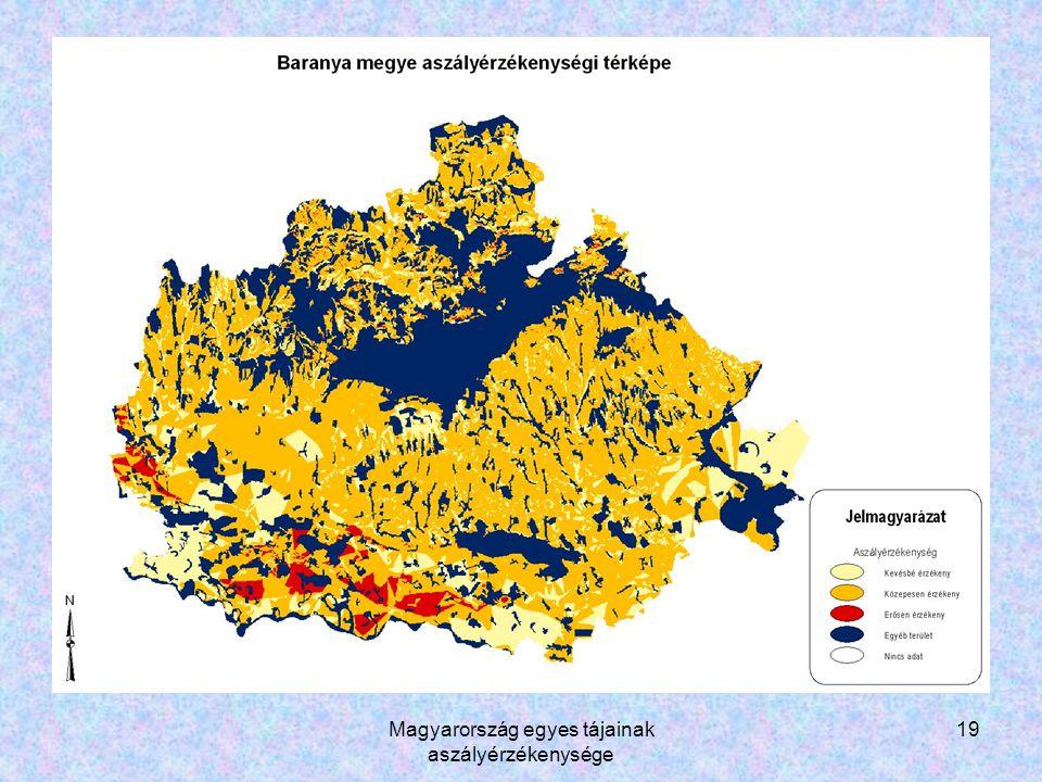 Magyarország egyes tájainak aszályérzékenysége