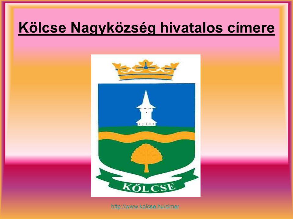 Kölcse Nagyközség hivatalos címere