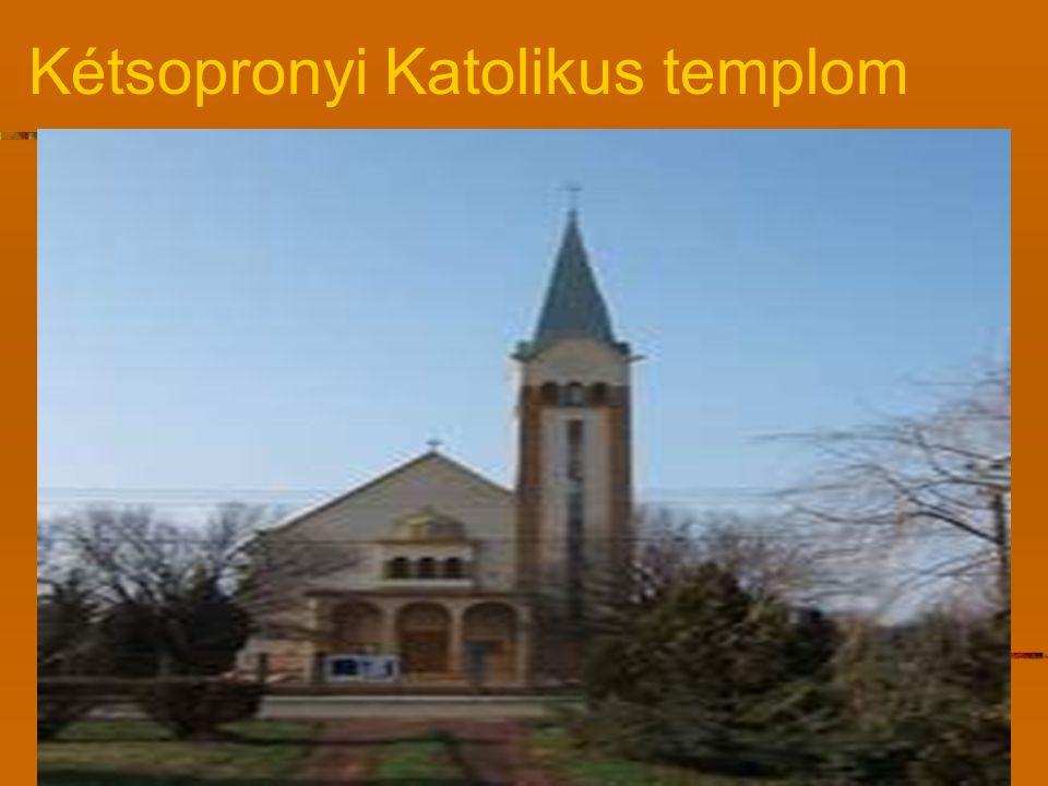 Kétsopronyi Katolikus templom