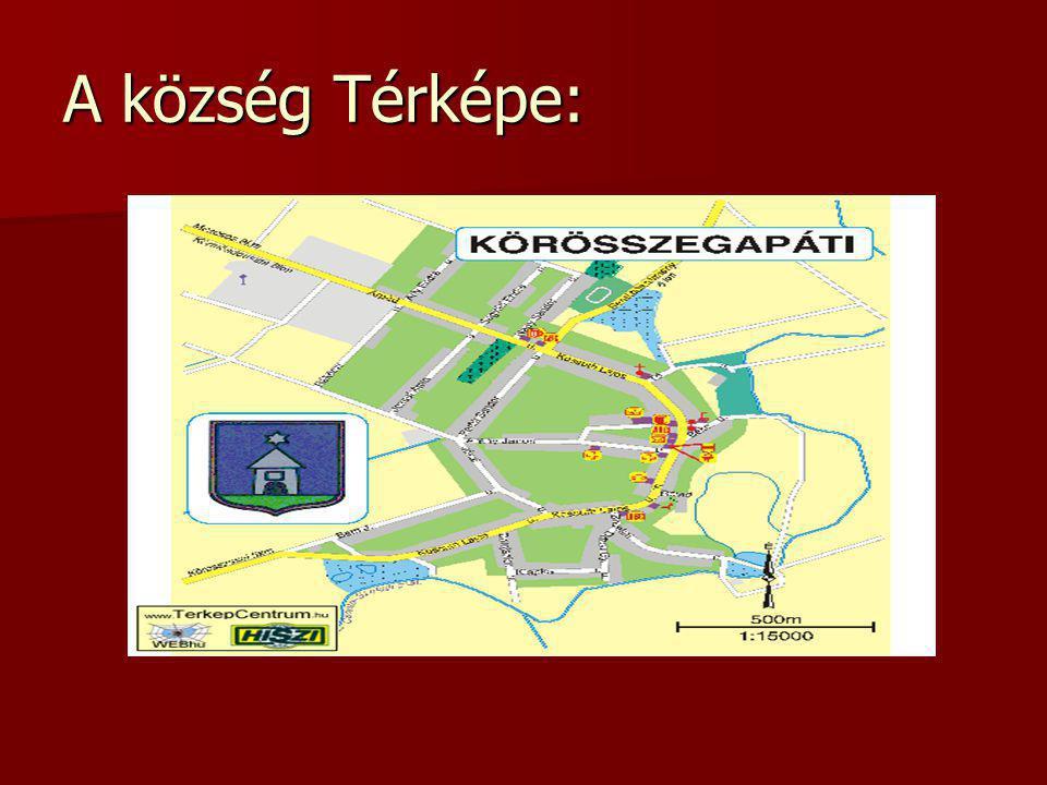A község Térképe: