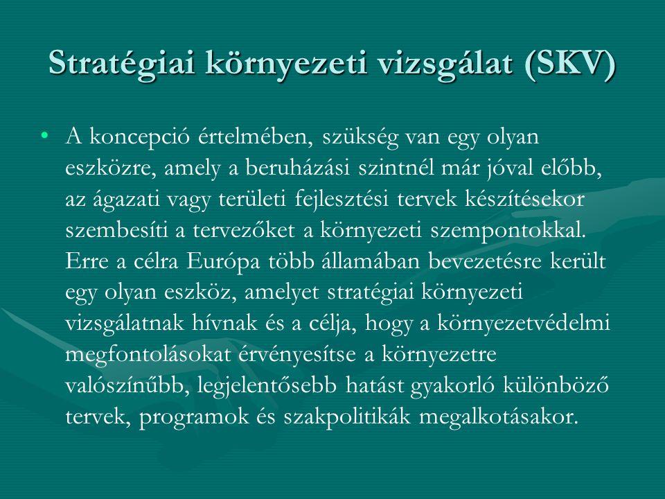 Stratégiai környezeti vizsgálat (SKV)