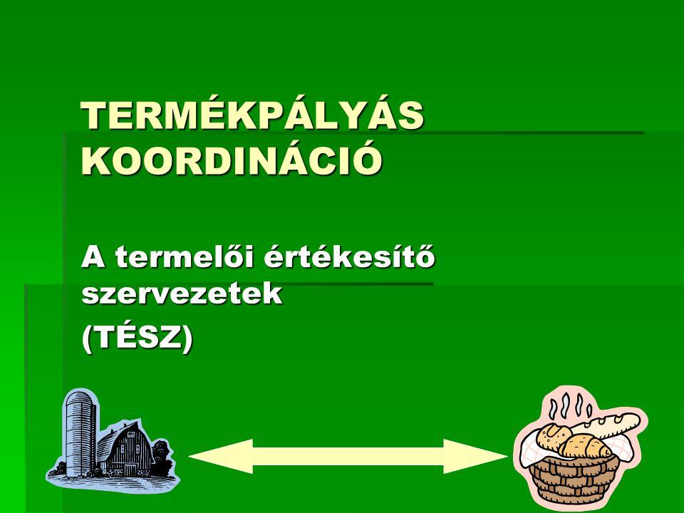 TERMÉKPÁLYÁS KOORDINÁCIÓ