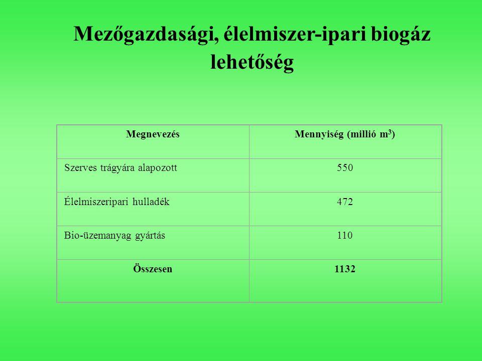 Mezőgazdasági, élelmiszer-ipari biogáz