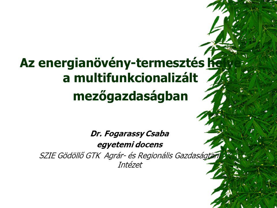 SZIE Gödöllő GTK Agrár- és Regionális Gazdaságtani Intézet