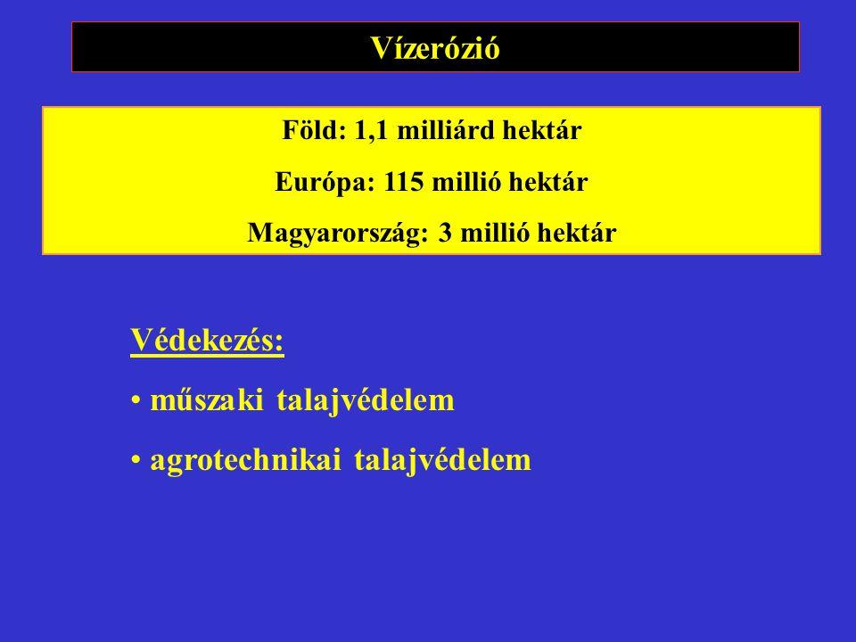 Magyarország: 3 millió hektár