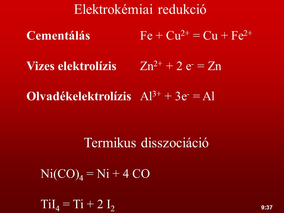 Elektrokémiai redukció