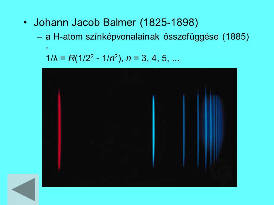 Johann Jacob Balmer (1825-1898)