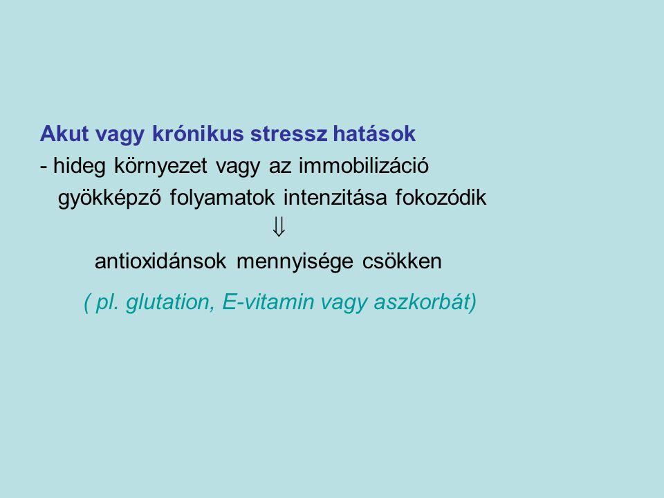 Akut vagy krónikus stressz hatások