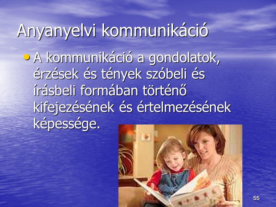 Anyanyelvi kommunikáció