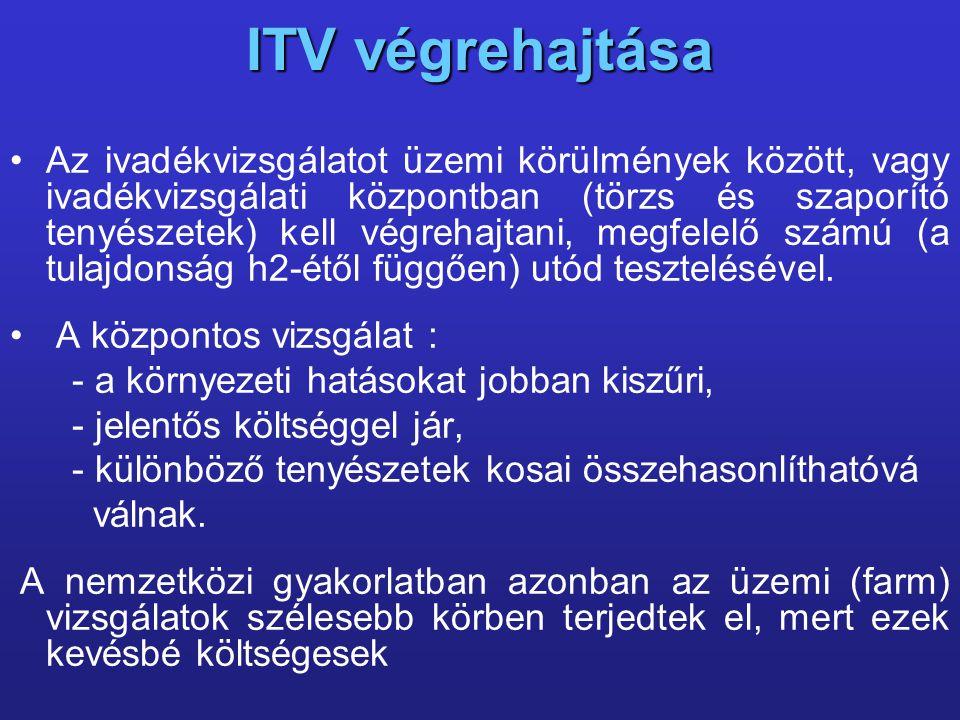 ITV végrehajtása