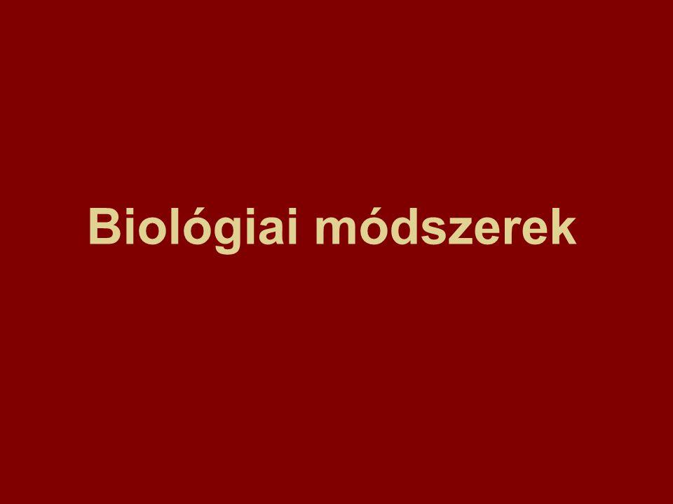 Biológiai módszerek
